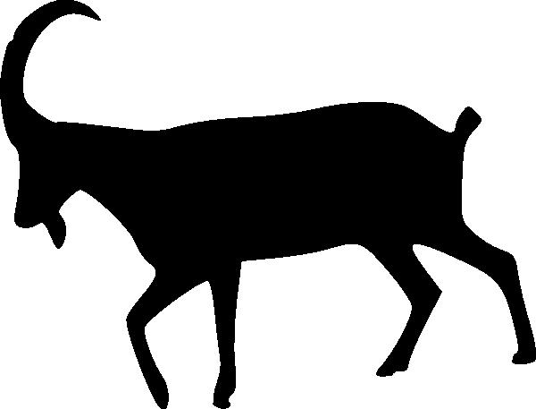 ram silhouette clip art at clker com vector clip art online rh clker com Ram Animal Rams Logo