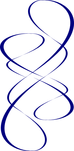 Blue Swirl Wind Clip Art at Clker.com - vector clip art ...