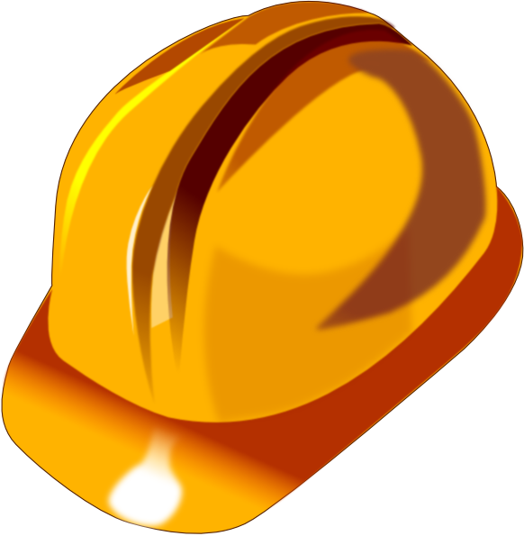 yellow hard hat clipart - photo #11