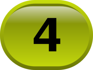 Button For Numbers 4 Clip Art