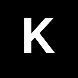 White Letter K Clip Art