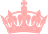 Pink Royal Crown Clip Art