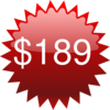 Red Star Tag Price Clip Art