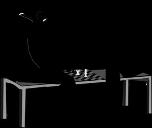 Men Playing Chess Clip Art At Clker Com Vector Clip Art