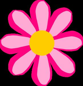 pink flower 2 clip art at clker com vector clip art online rh clker com april showers may flowers clip art may flowers clip art border