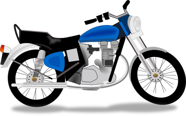 royal motorcycle clip art at clker com vector clip art online rh clker com motorcycle clipart free motorcycle clipart free