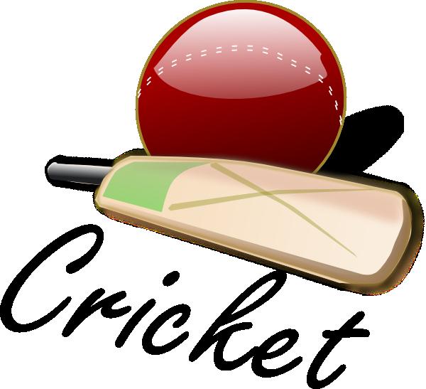 cricket bat and ball clip art at clker com vector clip Cool Youth Baseball Logos Baseball Skull Logo