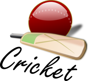 Cricket Bat And Ball Clip Art