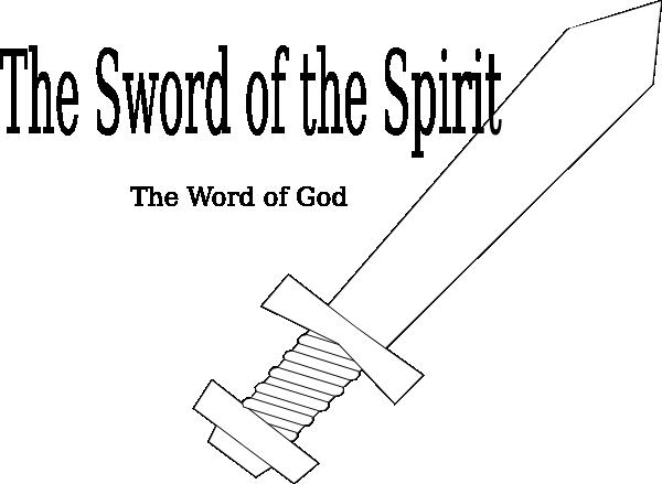 Sword Of The Spirit Template Clip Art