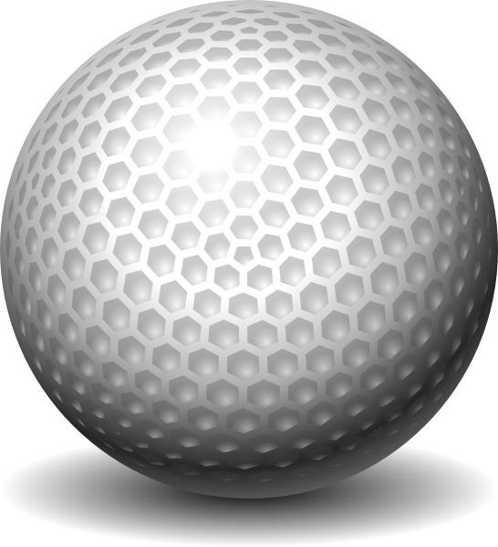 golf ball clip art at vector clip art online. Black Bedroom Furniture Sets. Home Design Ideas