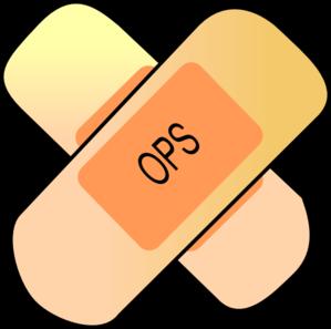 ops bandage logo clip art at clker com vector clip art online rh clker com bandage clipart bandage pictures clip art
