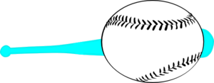 Baseball Bat Svg Clip Art