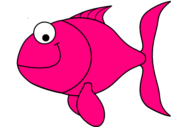 Pink fish clip art at vector clip art online for Fish clipart images