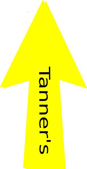 clipart yellow arrow - photo #26