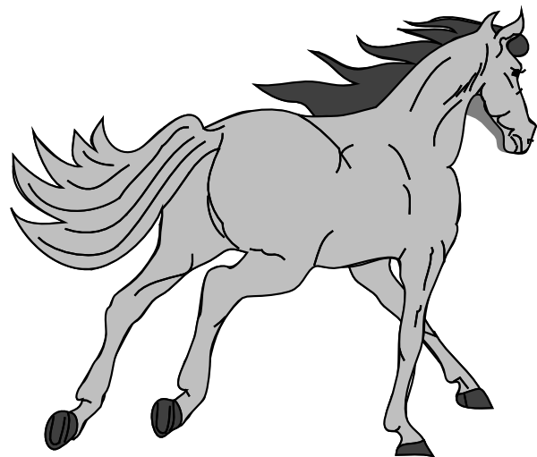 clipart picture of a horse - photo #49