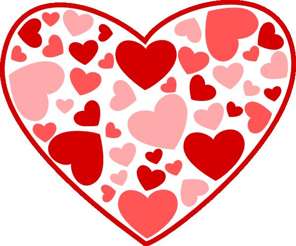 Heart Of Hearts Clip Art At Clkercom Vector Online 600x499