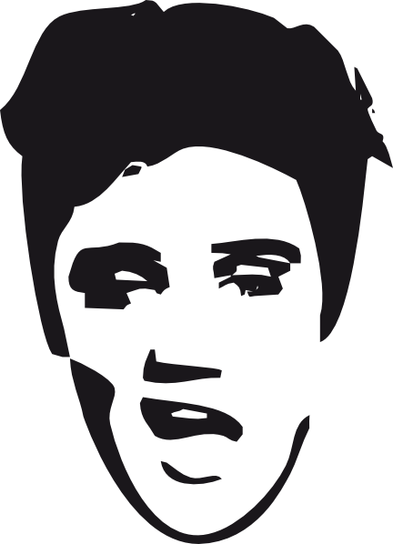 elvis clipart graphics free - photo #4