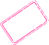 Hot Pink Stamp Clip Art