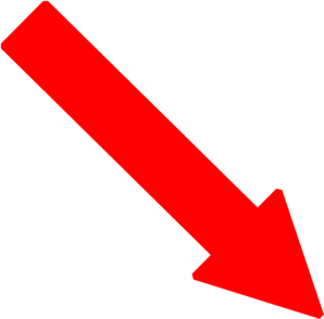 Red Right Down Arrow Clip Art