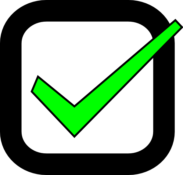 Green Check Box Png Nxt checkbox checked clip art