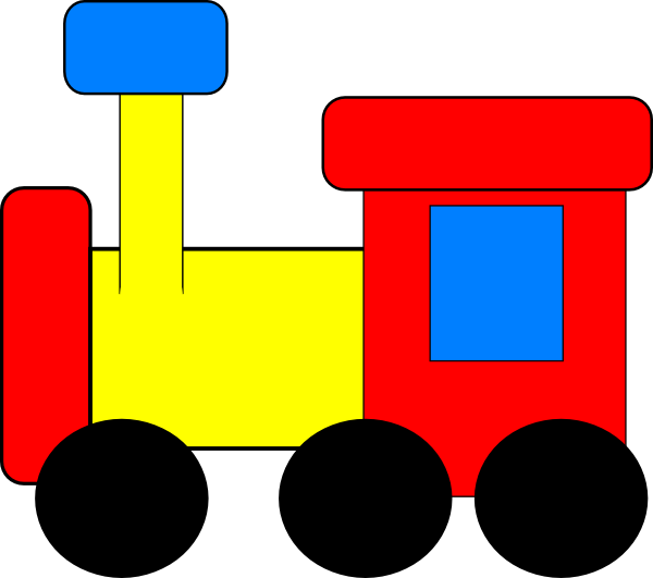 Train Clip Art at Clker.com - vector clip art online, royalty free ...
