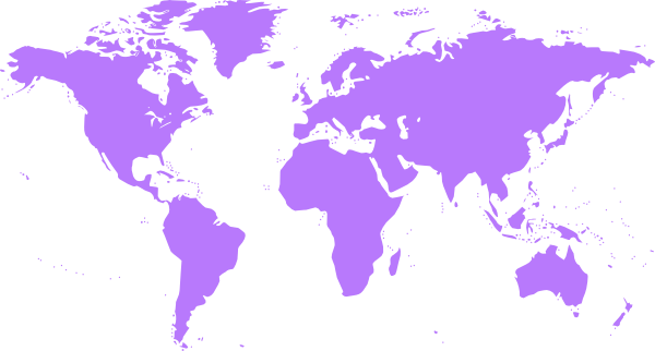 Purple world map clip art at clker vector clip art online download this image as gumiabroncs Choice Image