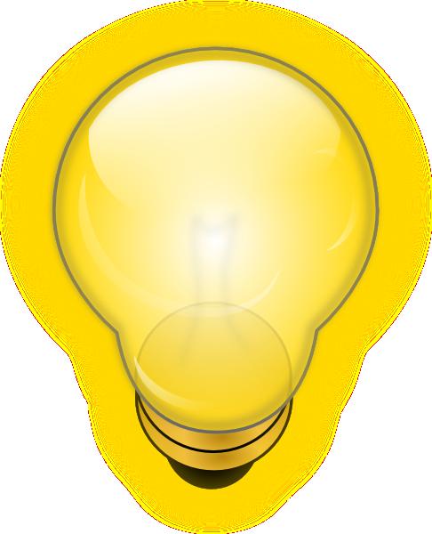glowing light bulb clip art at clker com vector clip art online  royalty free   public domain light bulb clip art vector light bulb clipart