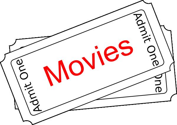 Movies Ticket Button Clip Art at Clker.com - vector clip art online ...