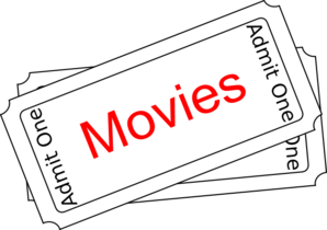 movies ticket button clip art at clker com vector clip art online rh clker com free clipart movie tickets movie ticket clipart black and white