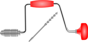 Manual Drill Clip Art