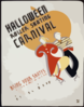 Halloween Roller Skating Carnival Bring Your Skates : Prizes Will Be Awarded For Costumes / M. Weitzman. Clip Art