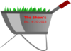 Customized Shaw Wheelbarrow Clip Art