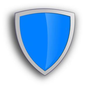 Blue Security Shield Clip Art at Clker.com - vector clip art online ...: www.clker.com/clipart-blue-security-shield.html