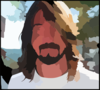 Dave Grohl Clip Art