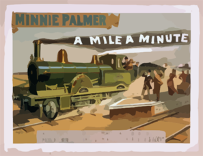 A Mile A Minute Clip Art