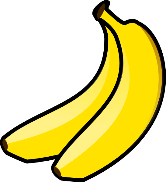 bananas clip art at clker com vector clip art online royalty free rh clker com clip art banana split clip art banana peel