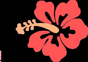 Clip Art Hibiscus Flower Clipart hibiscus flower clip art at clker com vector online art