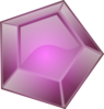 Purple Gem Clip Art