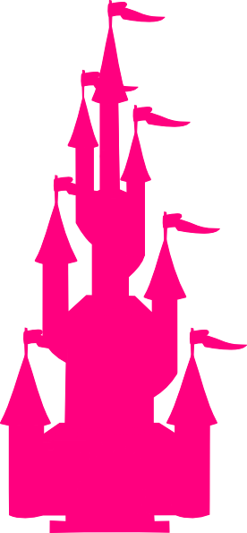 pink castle clip art at clker com vector clip art online royalty rh clker com disney castle clipart png sand castle clipart png