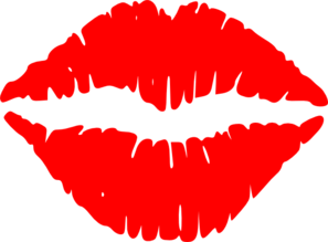 Lustful Lips Clip Art