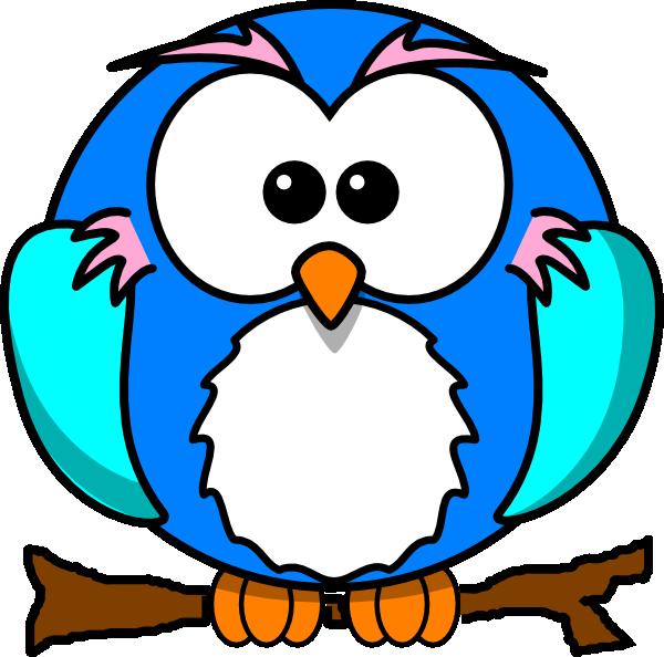 Cute Owl On Branchs Clip Art at Clker.com - vector clip art online ... Penguin Moving Animation