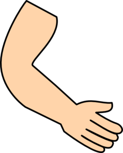 Cartoon arms and hands