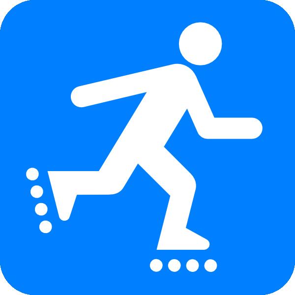Inline Skating Clip Art at Clker.com - vector clip art ...