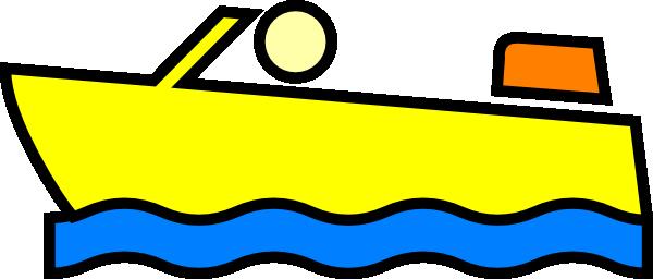 speed boat clip art