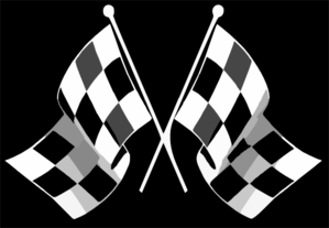 Checkered Flag Clip Art