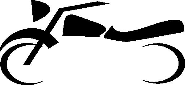 Motorcycle symbol clip art