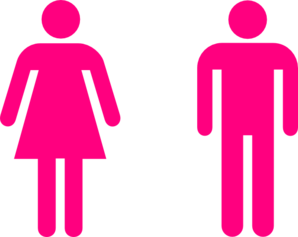 Pink People Clip Art