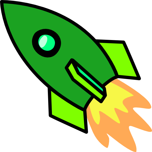 green rocket clip art at clker com vector clip art Astronaut Cartoon Clip Art Astronaut Graphic