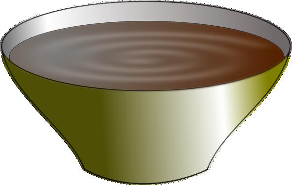 bowl of pudding clip art at clker com
