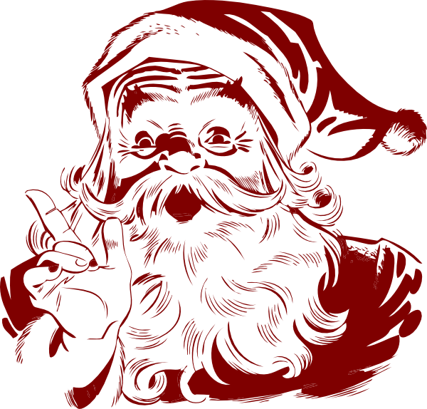 dark red santa clip art at clker com vector clip art Laser Gun Clip Art Laser Gun